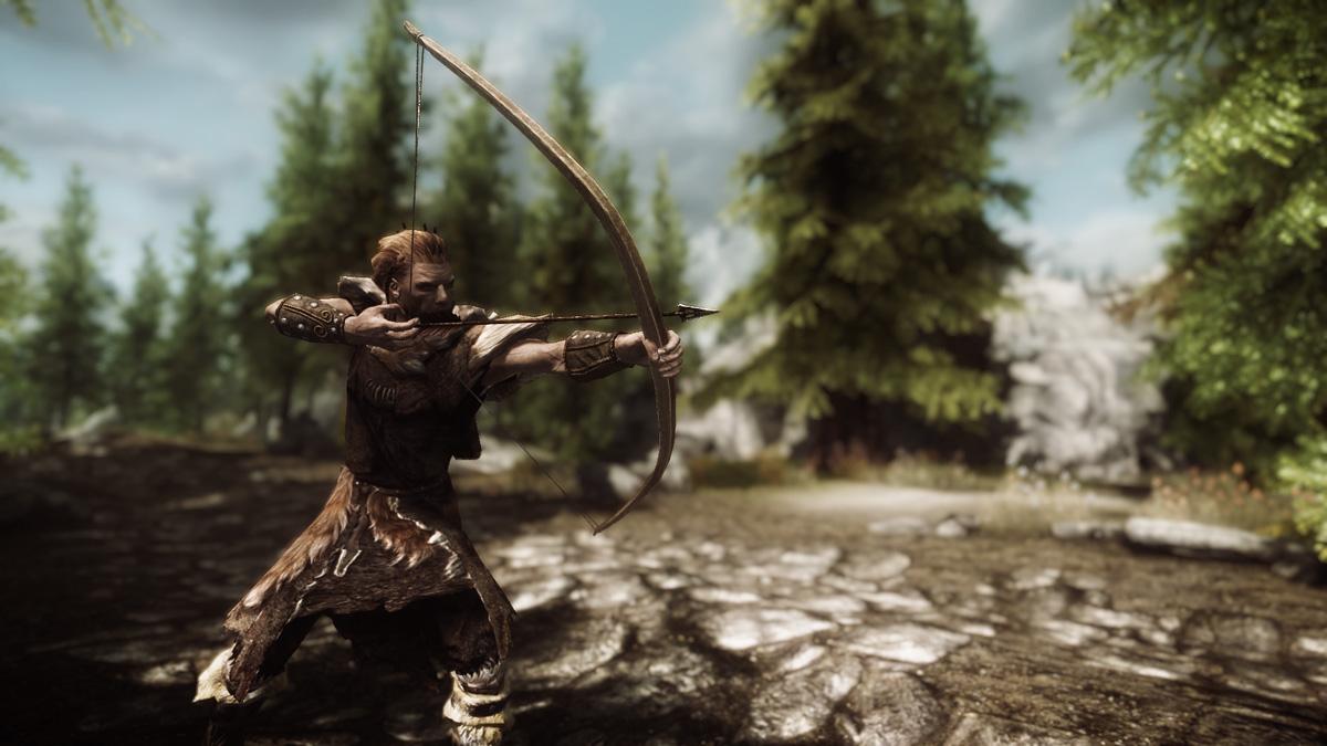 A Hunter Taking Aim