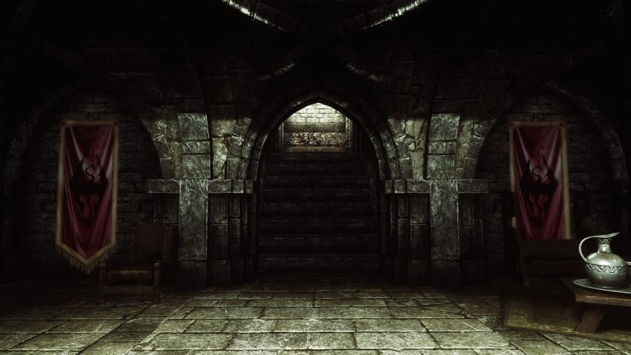 Inside Castle Dour.