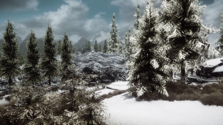 Snowy Skyrim