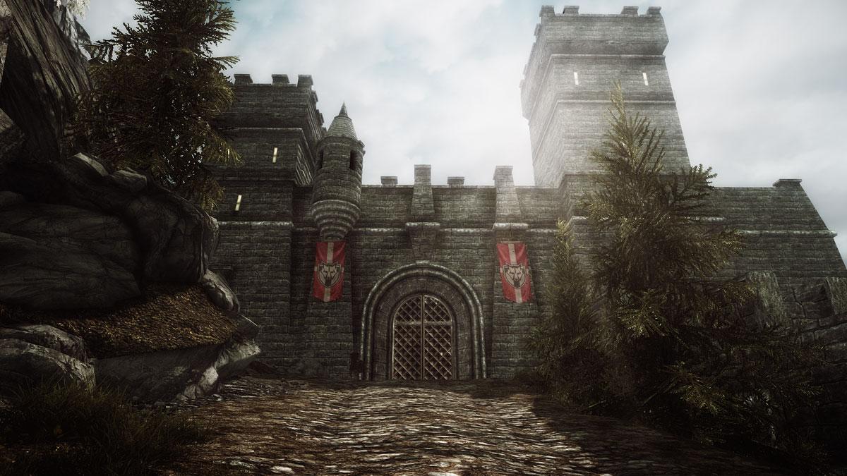 Main Gate into Solitude