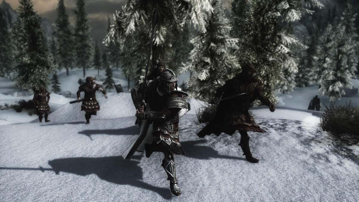 Avingard and the Imperial Legion charging Korvanjund