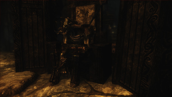 The Jagged Crown on a Draugr Scourge